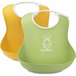 Babybjörn Bryndáky měkké 2 ks zelený/žlutý