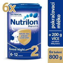 Nutrilon kojenecké mléko 2 Pronutra Good Night 6x 800g