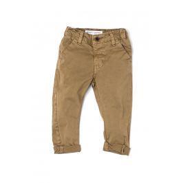 Minoti Chlapecké kalhoty Chino Posh - hnědá