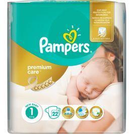 Pampers Premium Care 1, 22 ks (2-5 kg) - jednorázové pleny
