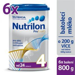 Nutrilon kojenecké mléko Profutura 4, 6x800g