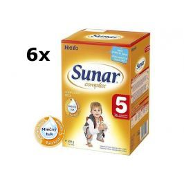 Sunar kojenecké mléko Complex 5, 6x600g