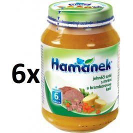 Hamánek Jehnečí soté s mrkví a bramborovou kaší 6x190g