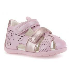 Geox Dívčí sandály Kaytan - růžové