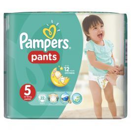 Pampers Pants plenkové kalhotky 5 Junior (12-18 kg), 22 ks