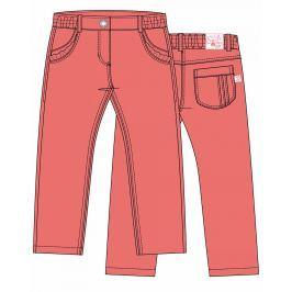 Blue Seven Dívčí kalhoty - lososové