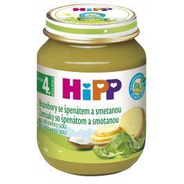 HiPP BIO Brambory se špenátem a se smetanou