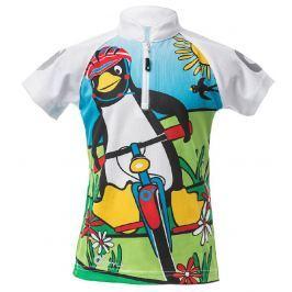 O'Style Dětské cyklotriko s tučňákem - barevné