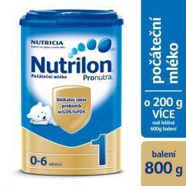 Nutrilon 1 počáteční kojenecké mléko Pronutra 800g
