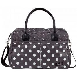 Bebe-jou Luxusní přebalovací taška Grey Dots