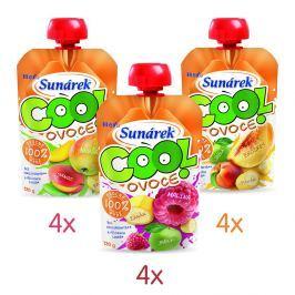 Sunárek Sunárek Cool ovoce mix kartonu 12x120g