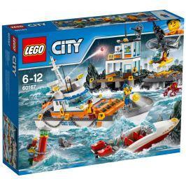 LEGO® City 60167 Coast Guard Základna pobřežní hlídky