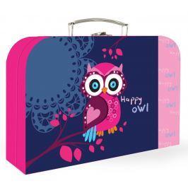 Karton P+P Lamino kufřík Sova