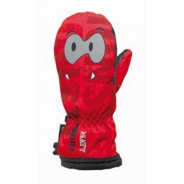 Matt Dětské palčáky Monster - červené