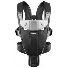 Babybjörn Nosítko Baby Carrier Miracle Black Silver