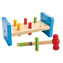Hape Toys Moje první zatloukačka Dřevěné zatloukačky