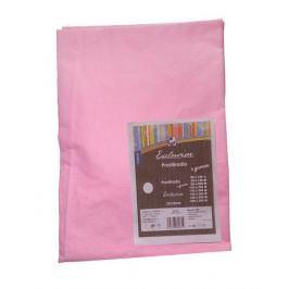 Cosing Bavlněné prostěradlo 60x120cm, růžová