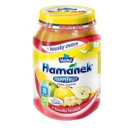 Hamánek HAPPYFRUIT 100% ovoce s kousky hrušek 6x190g