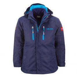 Trollkids Chlapecká bunda 3v1 Myrdal - tmavě modrá