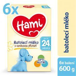 Hami Vanilka 24+ 6x600g