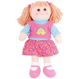 Bigjigs Látková panenka Susie 38 cm