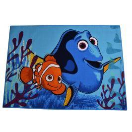 Carpet your life Dětský koberec Hledá se Dory, 95x133 cm - modrý