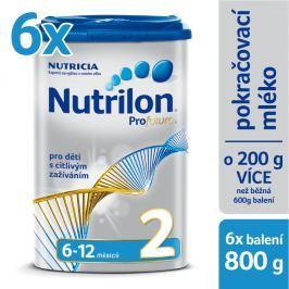 Nutrilon kojenecké mléko Profutura 2, 6x800g