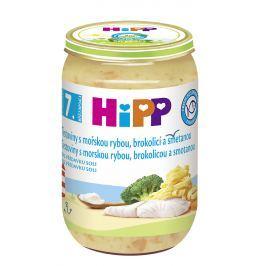 HiPP Těstoviny s mořskou rybou, brokolicí a smetanou 6x220g