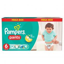 Pampers Pants plenkové kalhotky 6 Extra Large (16-22 kg), 88 ks