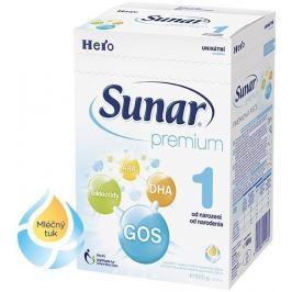 Sunar kojenecké mléko Premium 1, 600g
