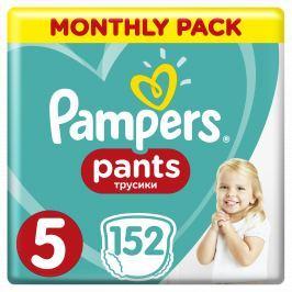 Pampers Plenkové kalhotky Pants 5 Měsíční balení 152 ks