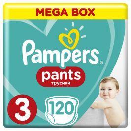 Pampers Pants plenkové kalhotky 3 (6-11 kg), 120 ks