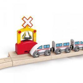 Hape Toys Kolejnice s automatickým zvonkem
