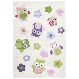 Happy Rugs Dětský koberec sovičky, 120x180 cm Koberce