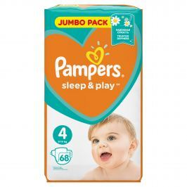 Pampers Sleep&Play 4 Maxi 7-14kg, 68ks
