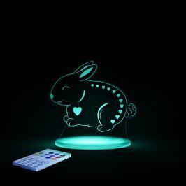 Aloka Noční světýlko Králíče + ovladač pro volbu barev
