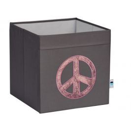 STORE !T Úložný box Peace, 33x33x33 cm - šedý