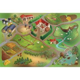 House of Kids Hrací podložka Farma 100x150 cm