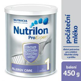 Nutrilon kojenecké mléko 1 Allergy Care 450g