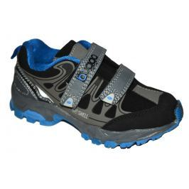 Bugga Chlapecká softshellová obuv - modro-šedá