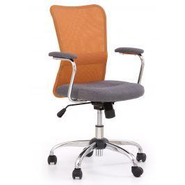 Halmar Dětská židle Andy - oranžová