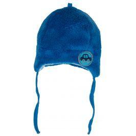 G-mini Chlapecká hřejivá čepička Autíčka - modrá