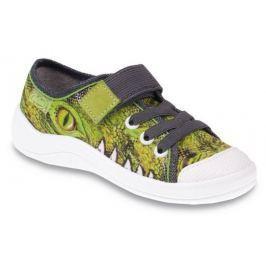 Befado Chlapecké tenisky s krokodýlem Tim - zelené