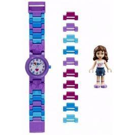 LEGO® Watch & Clock Dívčí hodinky Friends Olivia - fialové