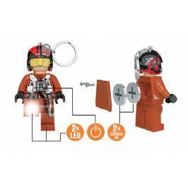 LEGO® LED Lite Dětská svítící figurka Star Wars Poe Dameron - oranžová