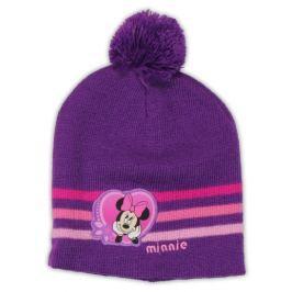 E plus M Dívčí čepice Minnie - fialová