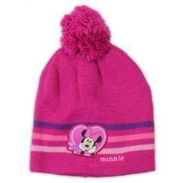 E plus M Dívčí čepice Minnie - růžová