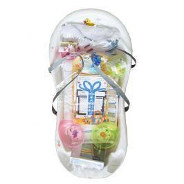 Cosing Startovací sada pro novorozence 13-dílná - bílá