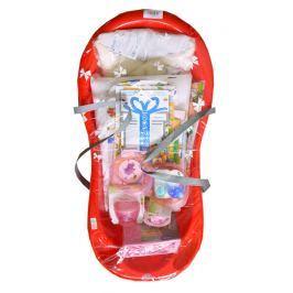 Cosing Startovací sada pro novorozence 13-dílná - červená
