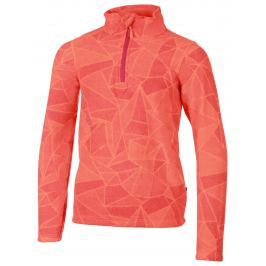 ALPINE PRO Dívčí microfleecová mikina Gooroo - oranžová